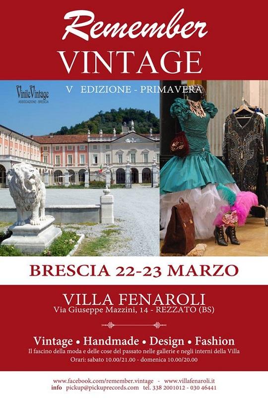 Remember Vintage a Villa Fenaroli 2014