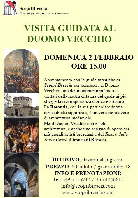 Visita Guidata al Duomo Vecchio con ScopriBrescia