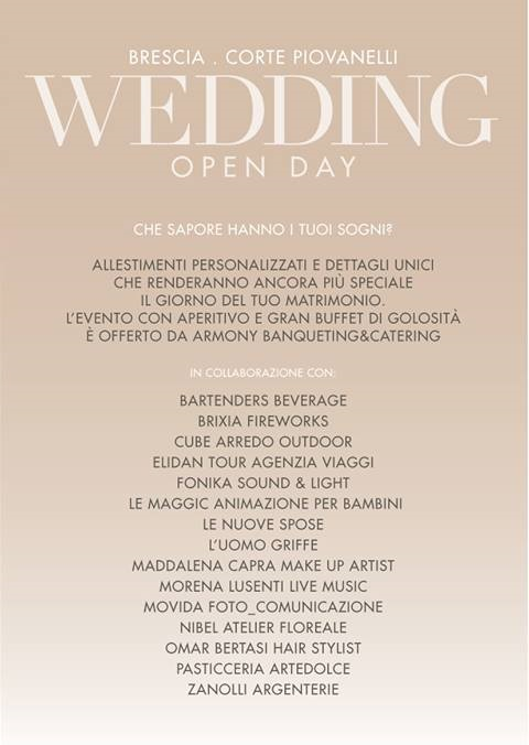 Wedding Open Day a Brescia B