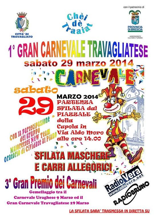 1 Carnevale Travagliatese 29 Marzo 2014