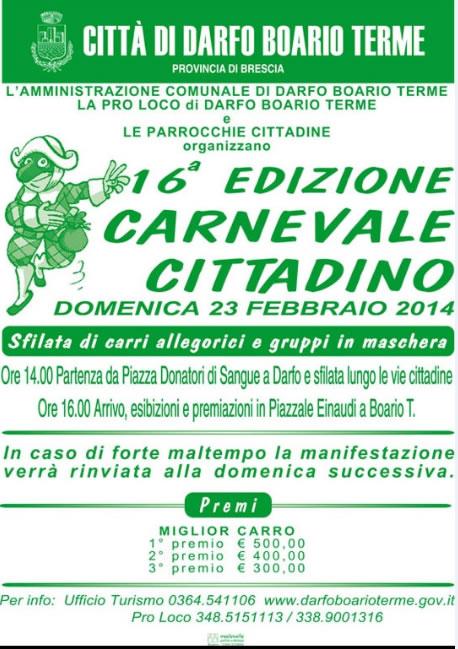 16 Carnevale Cittadino a Darfo Boario Terme