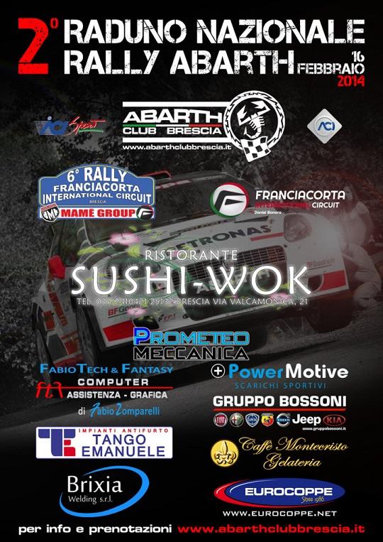 2 Raduno Nazionale Rally Abarth