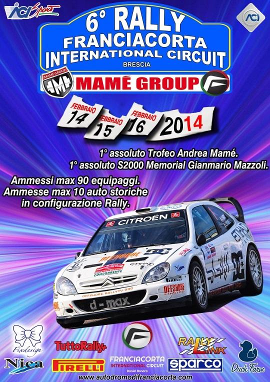 6 Rally Franciacorta Internacional Circuit