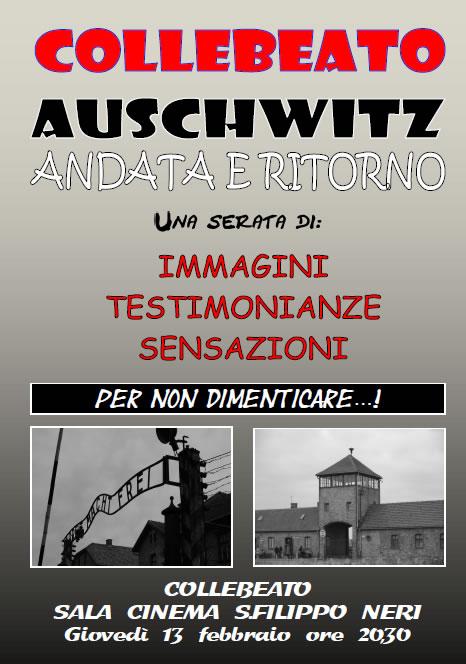 Auschwitz Andata e Ritorno a Collebeato