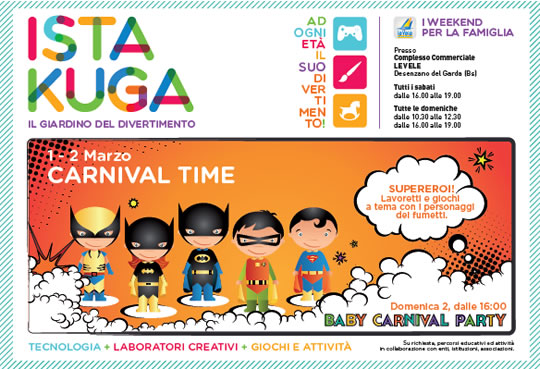 Baby Carnival Time a Desenzano