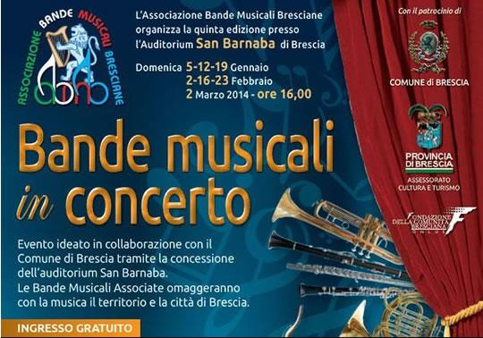Bande Musicali in Concerto a Brescia