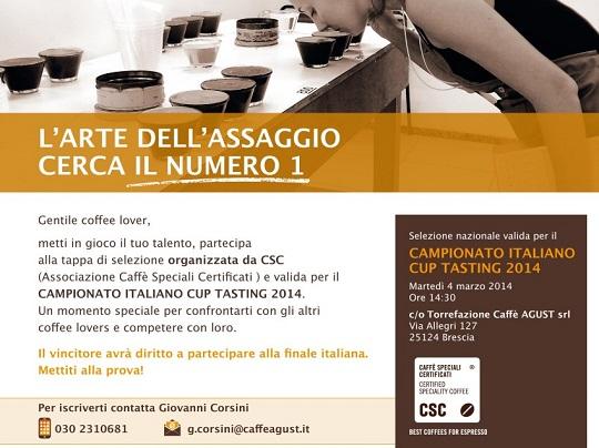 Campionato Italiano Cup Tasting 2014
