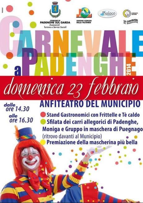 Carnevale 2014 a Padenghe