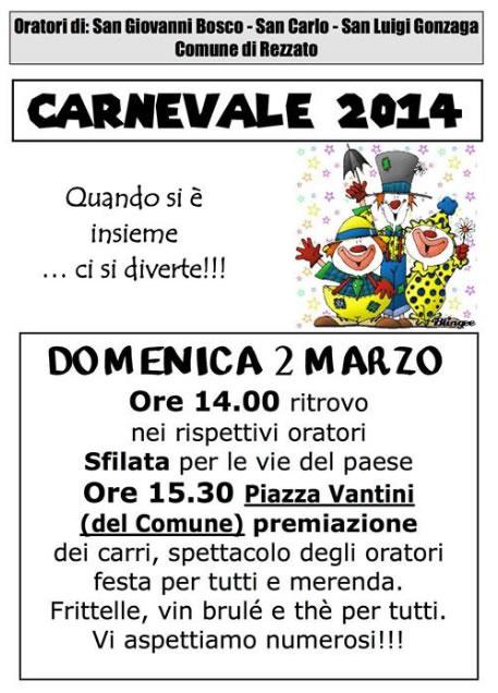Carnevale 2014 a Rezzato