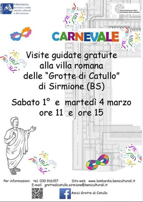 Carnevale alle Grotte di Catullo di Sirmione
