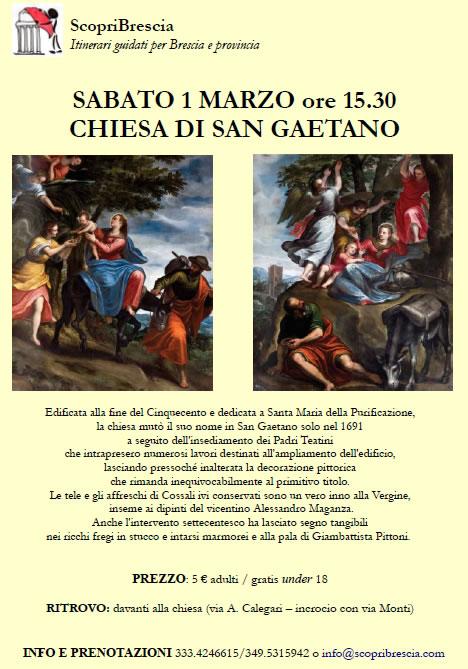Chiesa di San Gaetano con ScopriBrescia