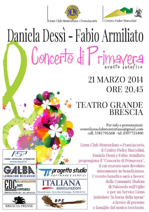 Concerto di Primavera al Teatro Grande di Brescia