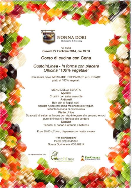Corso di Cucina vegetale con Cena a Brescia