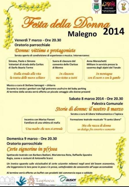 Festa della Donna a Malegno