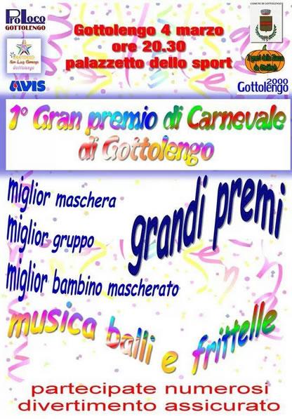 Gran Premio di Carnevale a Gottolengo