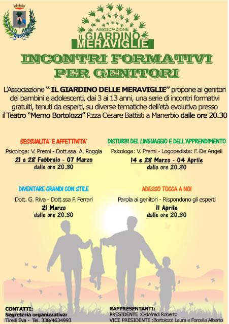 Incontri Informativi per Genitori a Manerbio