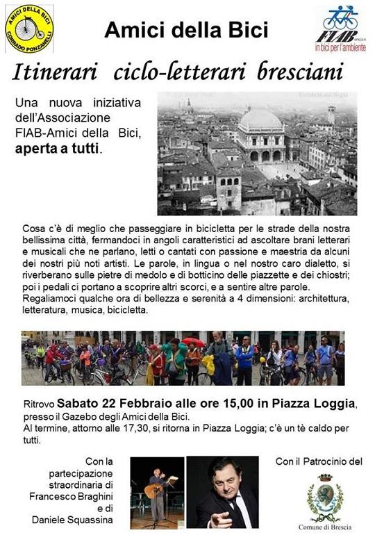 Itinerari ciclo letterari Brescia