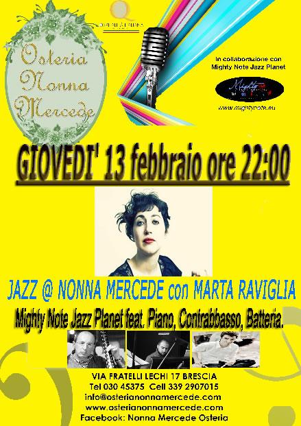 Jazz @ Nonna Mercede Brescia