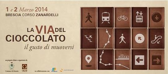 La Via del Cioccolato a Brescia