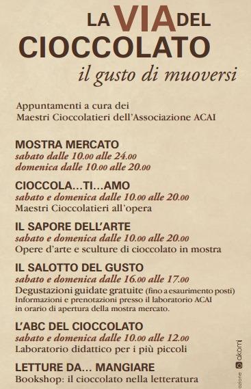 La via del Cioccolato Brescia