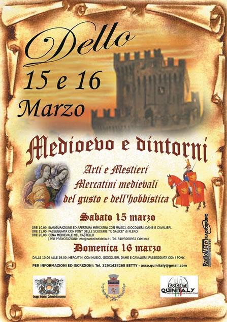 Medioevo e Dintorni a Dello