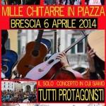 Mille chitarre in piazza 2014 Brescia