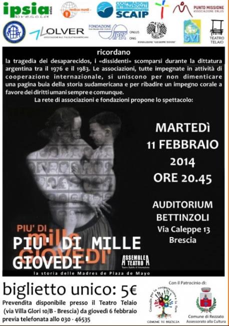 Più di Mille Giovedì a Brescia
