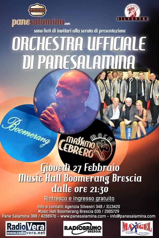 Presentazione Orchestra ufficiale di PaneSalamina Brescia