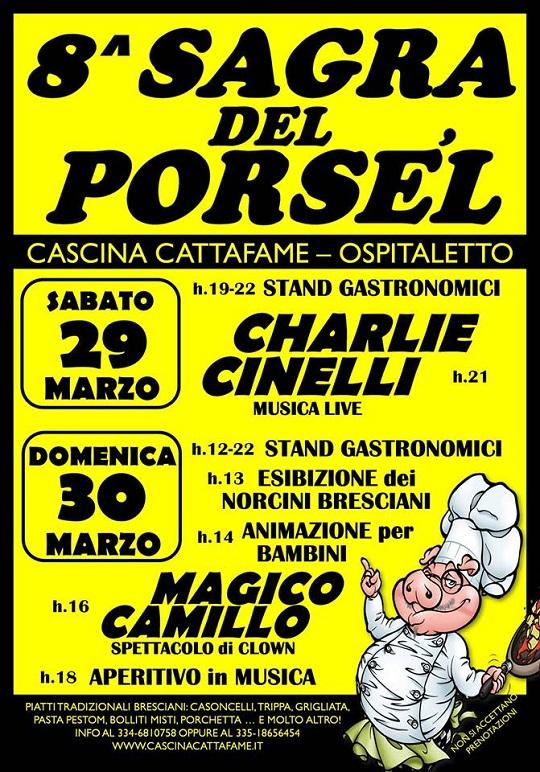 Sagra del Porsel Cascina Cattafame 2014 Ospitaletto