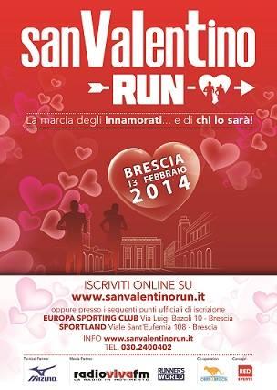 San Valentino Run 2014 Brescia