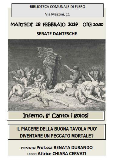 Serate Dantesche Comune Flero