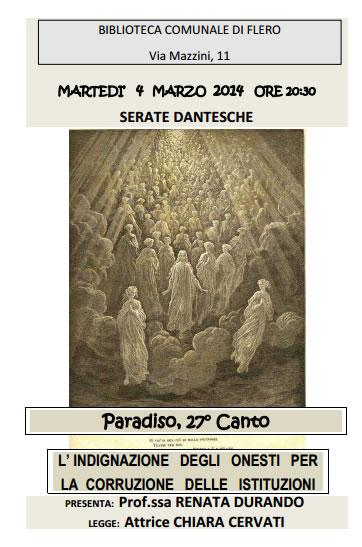 Serate Dantesche a Flero