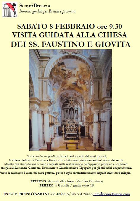 Visita Guidata alla Chiesa dei SS. Faustino e Giovita con ScopriBrescia