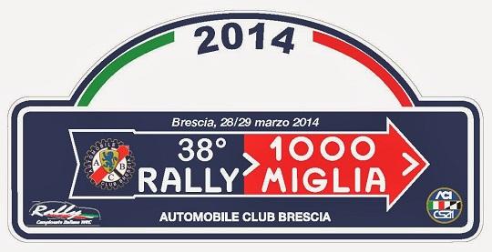 38 Rally Mille Miglia Brescia