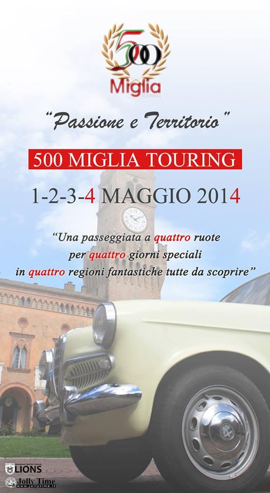 500 Miglia Touring 2014 B