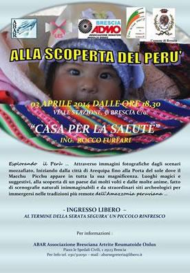 Alla Scoperta del Perù a Brescia