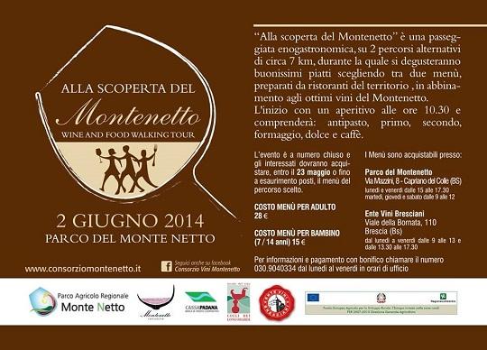 Alla scoperta del Montenetto 2-6-2014