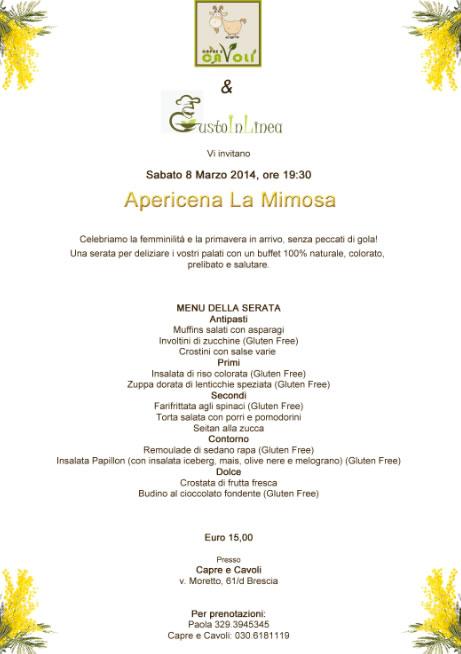 Apericena La Mimosa a Brescia