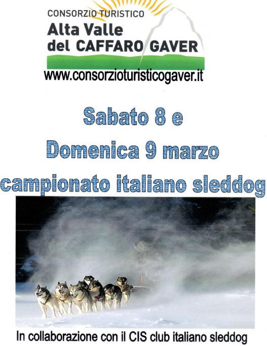 Campionato Italiano Sleddog al Gaver