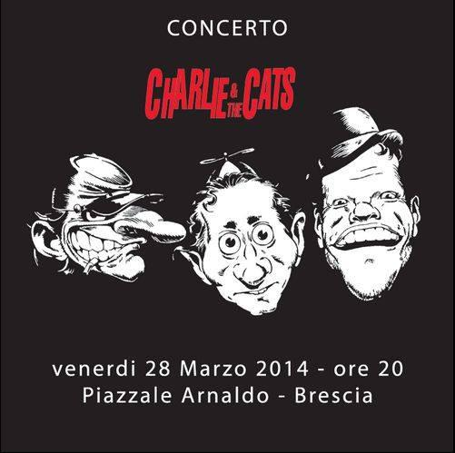 Charlie & the Cats Piazzale Arnaldo Brescia