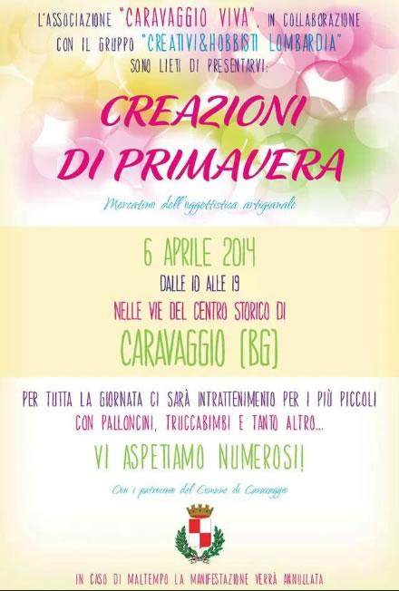 Creazioni di Primavera a Caravaggio (BG)