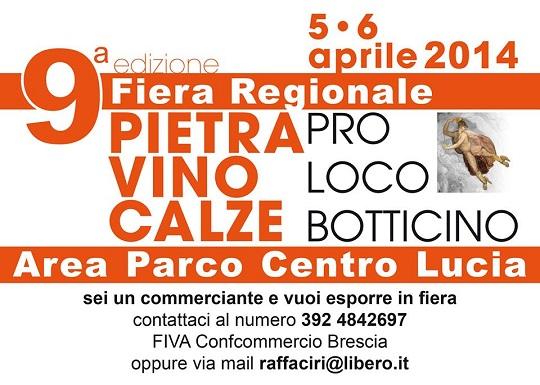 Fiera Regionale Pietra Vino e calze 2014 Botticinio