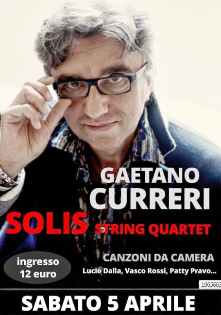Gaetano Curreri e Solis String Quartet a Iseo