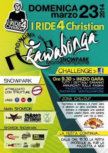 I Ride 4 Christian a Montecampione