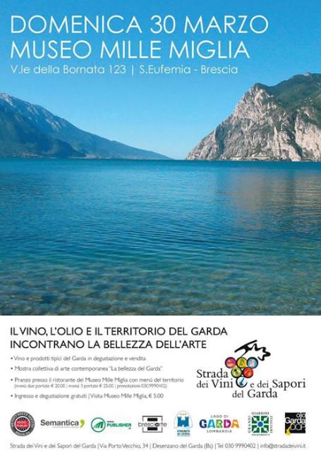 Il Vino l'Olio e il Territorio del Garda Incontrano la Bellezza dell'Arte a Brescia
