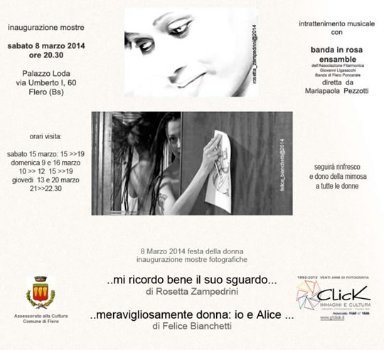 Inaugurazione Mostre Fotografiche a Flero