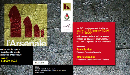 L'Arsenale si Mette in Mostra Iseo