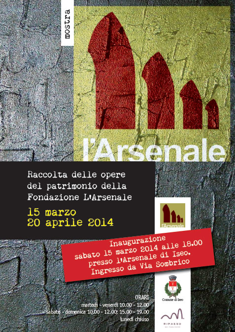 L'Arsenale si Mette in Mostra a Iseo