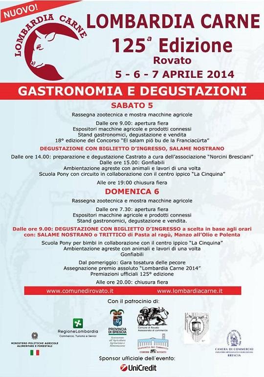 Lombardia Carne 125 edizione Rovato