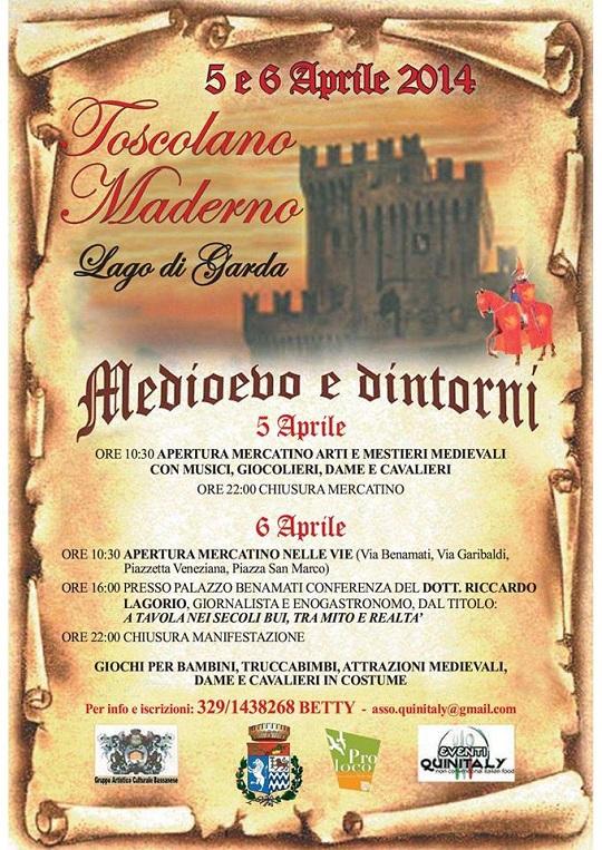Medioevo e dintorni Toscolano Maderno 2014